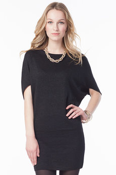 Черное платье туника VIAGGIO