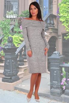 Серое платье чулок Натали