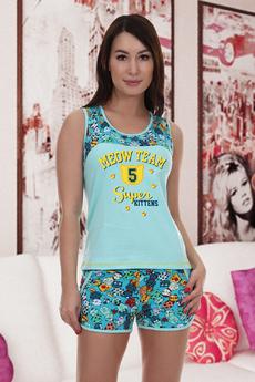 Пижама с шортами Натали