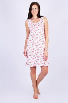Сорочка с розовыми цветами Красная Ветка