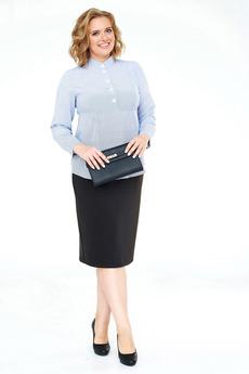 Женская рубашка в тонкую полоску Angela Ricci