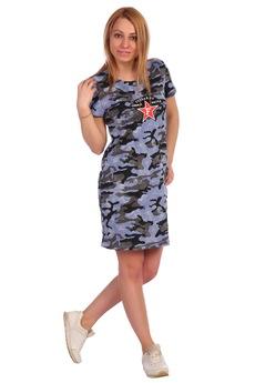 Платье в армейском стиле ElenaTex со скидкой